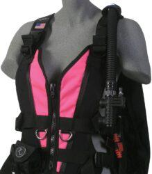 Zena Front Panel, Neon Pink - XS