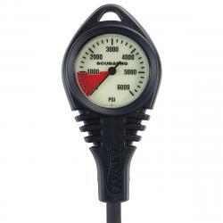Pressure Gauge Standard Cpl PSI 0   (w/hose & boot)