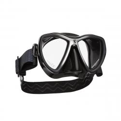 ScubaPro Synergy Mini Mask Black Skirt w/ Comfort Strap