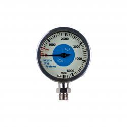 Master Submersible pressure gauge, 0-5500 psi