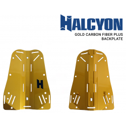 Halcyon Gold CF+ Backplate