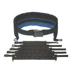 6 Pocket Cordura Weight Belt - Black