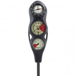 ScubaPro 3 Gauge In-L Pressure Gauge/Depth Gauge/Compass