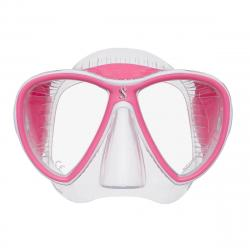 Synergy 2 Twin - Clear/Clear/Pink w/comfort strap