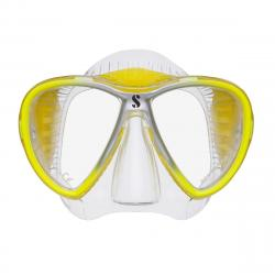 Synergy 2 Twin - Clear/Clear/Yellow w/comfort strap