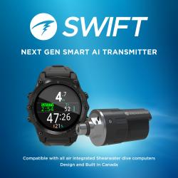 Shearwater Teric with Swift Transmitter