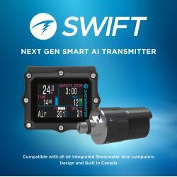 Shearwater Perdix AI with Swift Transmitter