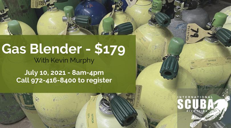 PADI Gas Blender - July 10, 2021