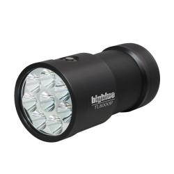 8000 Lumen Narrow Beam Technical Light - Black