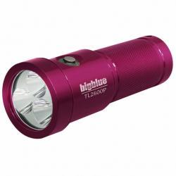 2600 Lumen Narrow Beam Technical Light - Glossy Pink