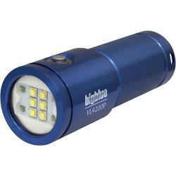 2600 Lumen Narrow Beam Technical Light - Glossy Blue