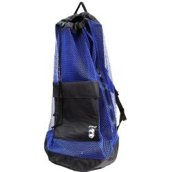 Armor Mesh Deluxe Back Pack Blue