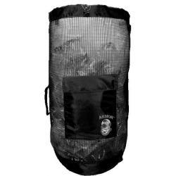 Armor Mesh Deluxe Backpack Black