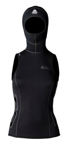 Waterproof U1 2mm Hooded Vest Female