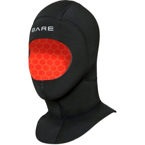 BARE 5mm Ultrawarmth Wet Hood, Black - XS
