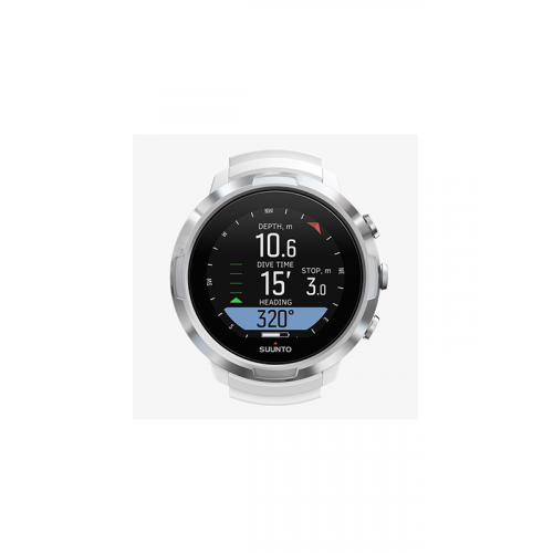 SUUNTO D5 WHITE WITH USB CABLE & POD PKG