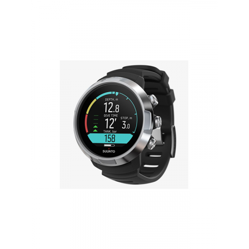 SUUNTO D5 BLACK WITH USB CABLE & POD PKG