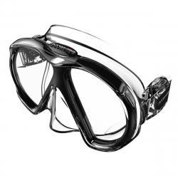 ATOMIC SubFrame Masks, Slim Fit (Asian Profile) CLEAR/BLACK