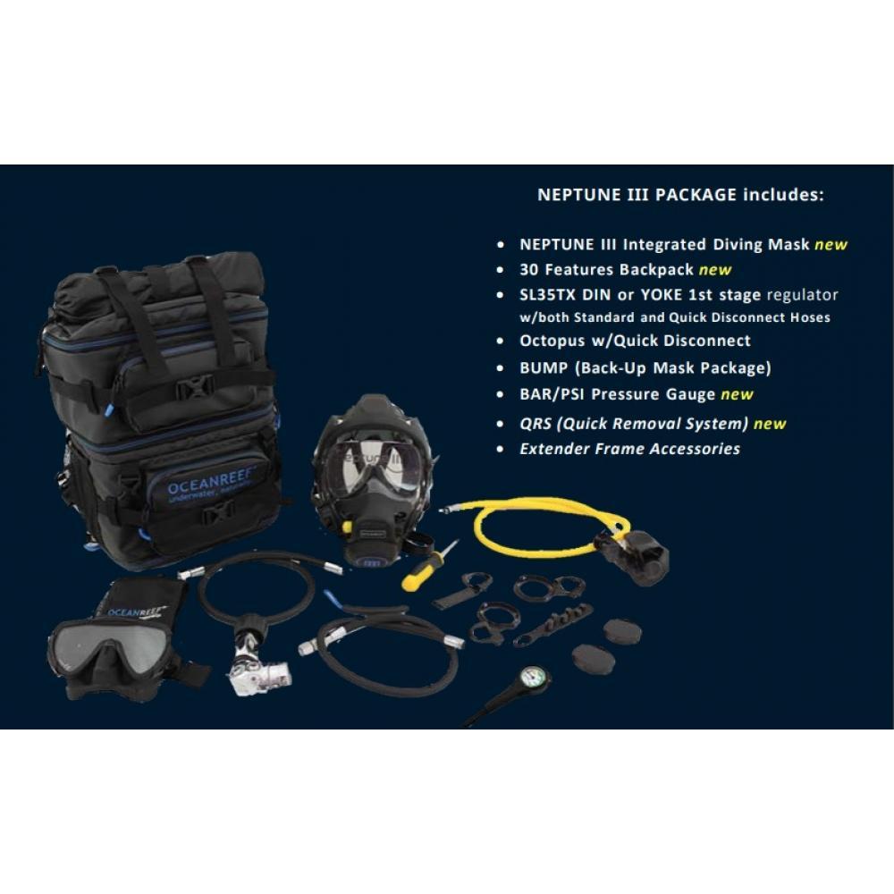 Ocean Reef Neptune III Package M/L DIN