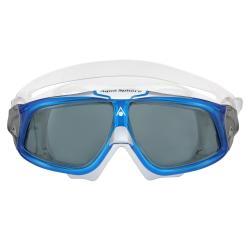SWIM MASK, SEAL2.0, SMOKE LENS/LIGHT BLUE+WHITE
