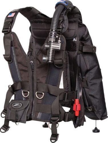 Zena (w/standard black panel), w/inflator, hose and RE valve, Lar