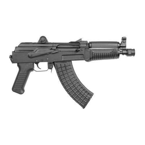 "Arsenal, Inc., SAM7K, Semi-automatic, AK Pistol, 7.62X39, 8.5"" Barrel, Black, Adjustable Sights"