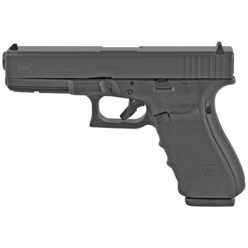 "Glock, 21 Gen 4, Safe Action, Full Pistol, 45 ACP, 4.6"" Barrel, Polymer Frame, Matte Finish"