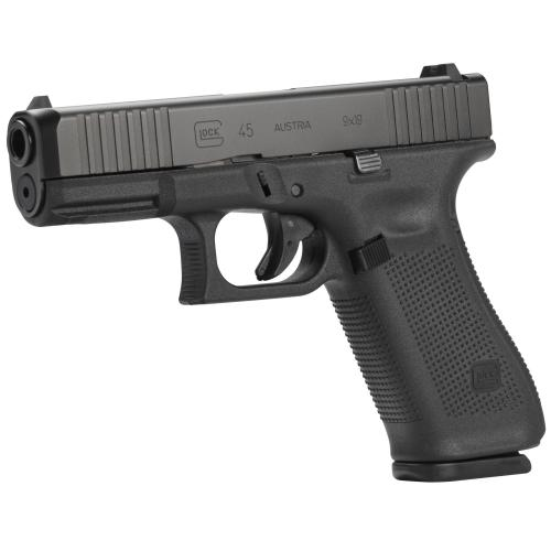 "Glock, 45, Striker Fired, Compact Size, 9MM, 4.02"" Marksman Barrel, Polymer Frame, Matte Finish"