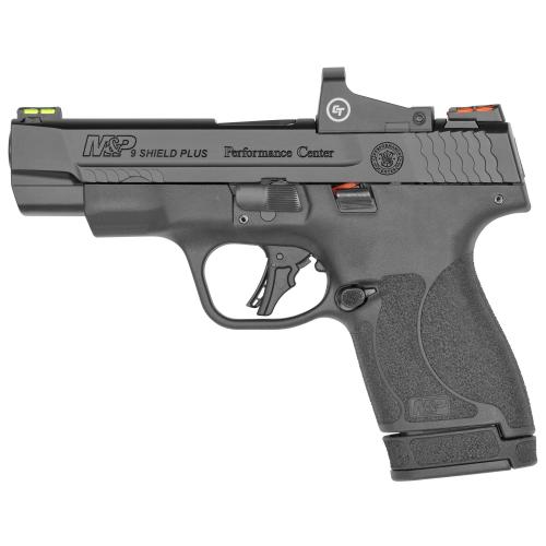 Smith & Wesson, Shield Plus, Performance Center, Includes Crimson Trace Red Dot, Striker Fired
