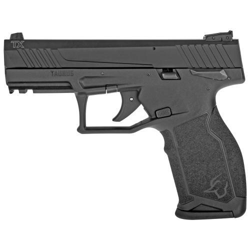 "Taurus, TX22, Semi-automatic, Polymer Frame Pistol, 22 LR, 4"" Barrel, Black, Adjustable Sights"