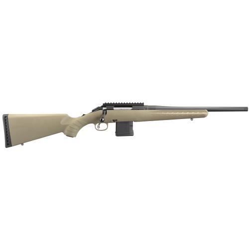 "Ruger, American Ranch Rifle, Bolt-Action, 300 Blackout, 16.1"" Threaded Barrel, Matte Black Finish"