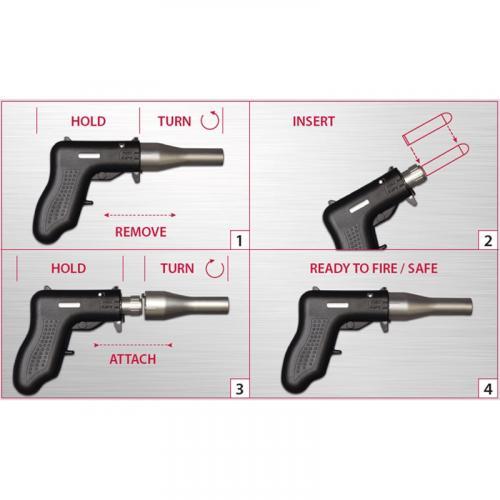 Altor Corporation Single Shot Self Defense 9MM Pistol