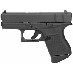 Glock, 43, Semi-automatic, Striker Fired, Sub Compact, 9MM, 3.41