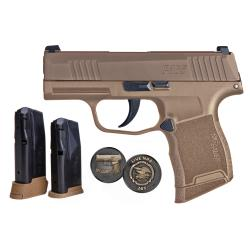 P365 9MM 10+1 COYOTE NRA NS365-9-COYXR3-NRA19 / 3 MAGS9mm