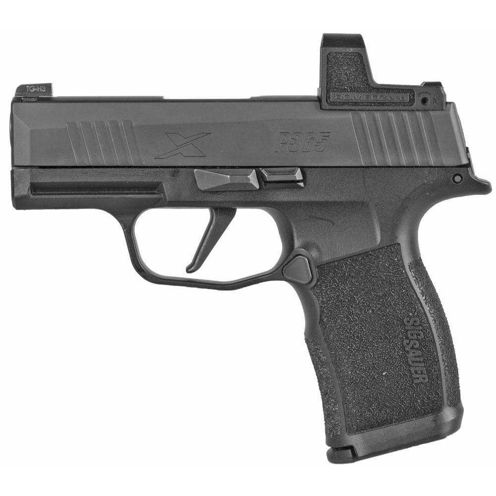 "Sig Sauer, P365X, Striker Fired, Sub-Compact, 9MM, 3.1"" Barrel, Polymer Frame, Black Finish"