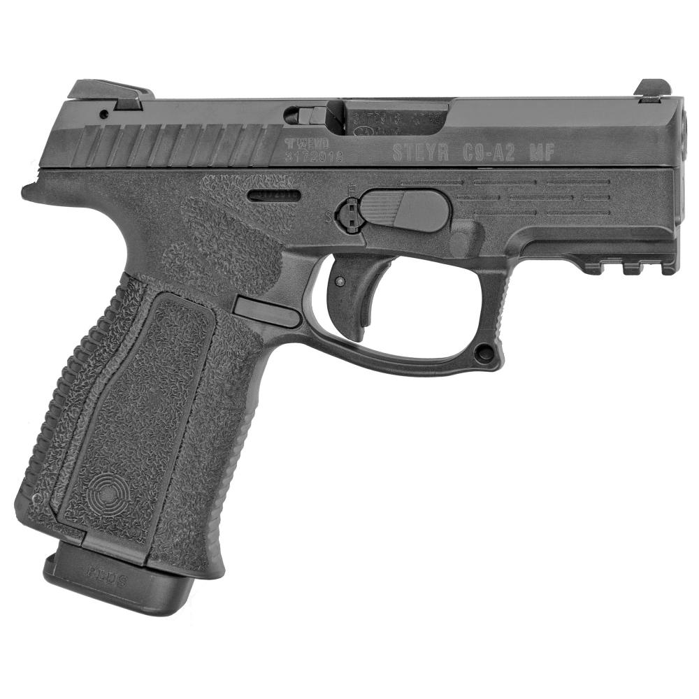 """Steyr Arms, C9-A2 MF, Semi-automatic, Striker Fired, Compact Size, 9MM, 3.8"""" Barrel, Polymer Frame"""