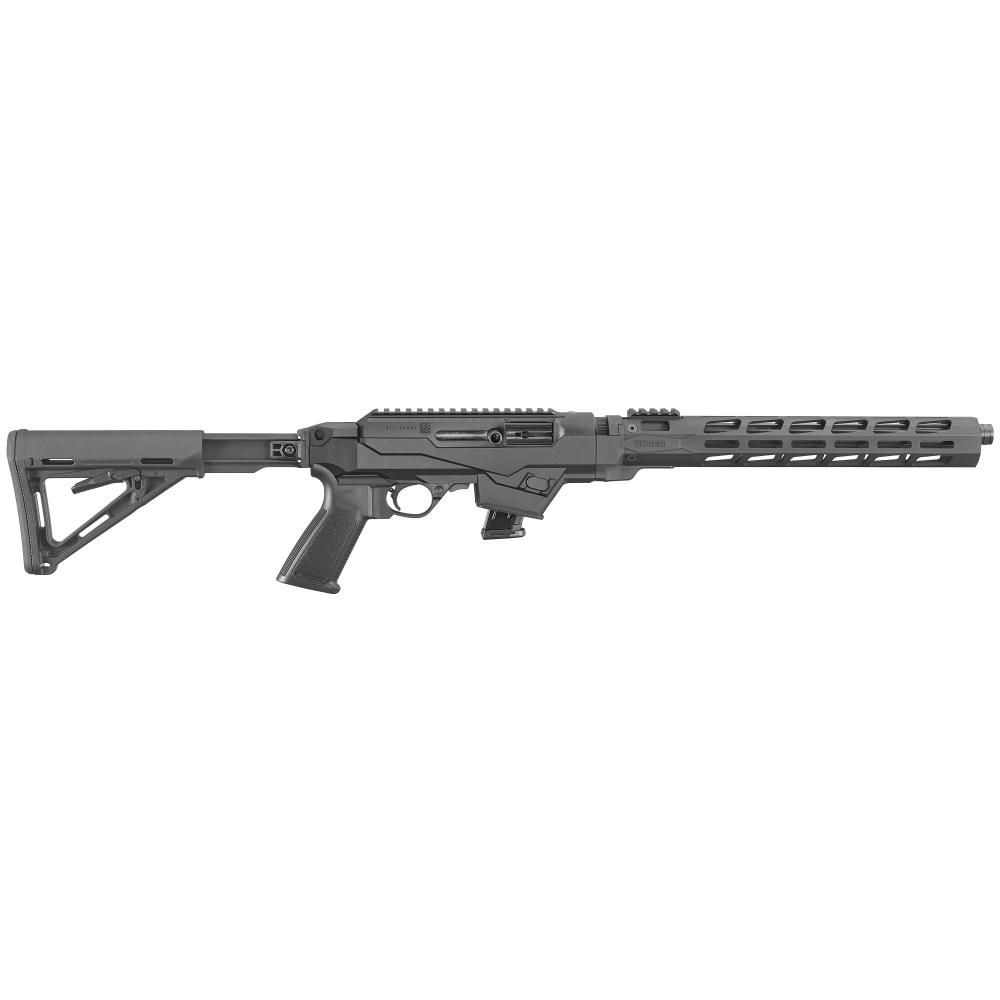 """Ruger, PC Carbine, Semi-automatic Rifle, 9MM, 16.12"""" Cold Hammer Forged Barrel, Heavy Fluted Barrel"""