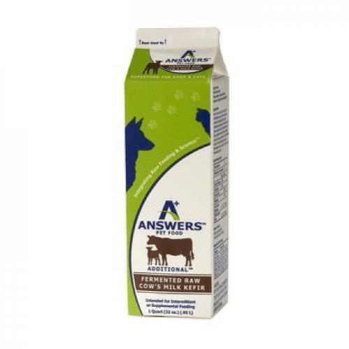 ANSWERS COWS MILK KEFIR 1 QT