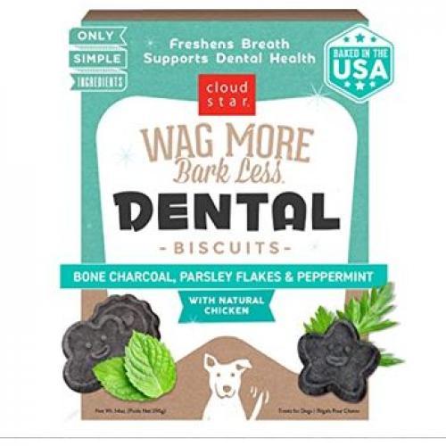 Wag More Bark Less Dental Biscuits 14 oz