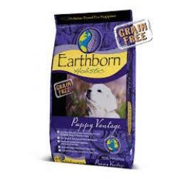 EARTHBORN GRAIN FREE F PUPPY VANTAGE 14LB BAG
