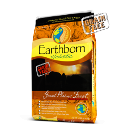 EARTHBORN  GREAT PLAINS GRAIN FREE DOG FOOD 4LB