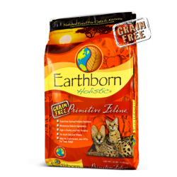 EARTHBORN  CAT PRIMITIVE GRAIN FREE 5LB