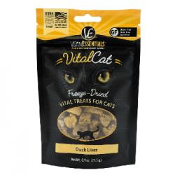 VITAL ESSENTIALS CAT FREEZE DRIED DUCK LIVER .9 OZ BAG