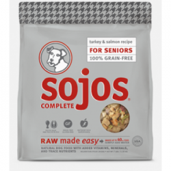 SOJOS GRIAN FREE SENOIR TURKEY & SALMON 1.75 lb BAG