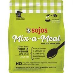 SOJOS GRAIN FREE MIX A MEAL FRUIT & VEGGIES 8lb BAG