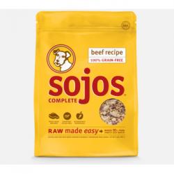 SOJOS GRAIN FREE COMPLETE BEEF 1.75 lb BAG