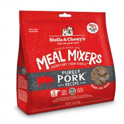 STELLA & CHEWY'S DOG MEAL MIXERS PURELY PORK 3.5 OZ