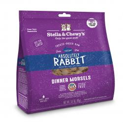 STELLA & CHEWY'S CAT ABSOLUTELY RABBIT MORSELS 18 OZ