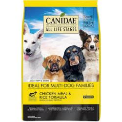 CANIDAE DOG CHICKEN & RICE 5LB