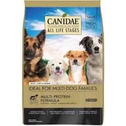 CANIDAE DOG MUTLI PROTEIN FORMULA 5LB
